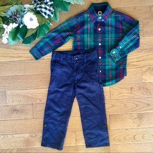 Janie & Jack Dress Shirt $ Pants Outfit